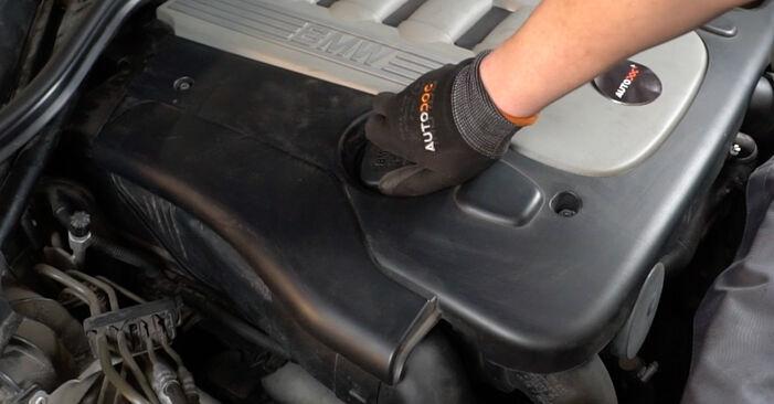 BMW E60 525d 2.5 2003 Ölfilter wechseln: Gratis Reparaturanleitungen