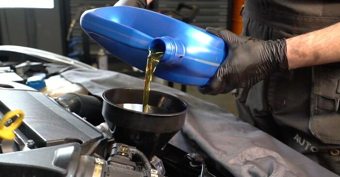 GRANDE PUNTO (199) 1.4 T-Jet 2019 Oil Filter DIY replacement workshop manual