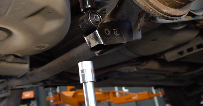 VW POLO 1.4 TDI Springs replacement: online guides and video tutorials