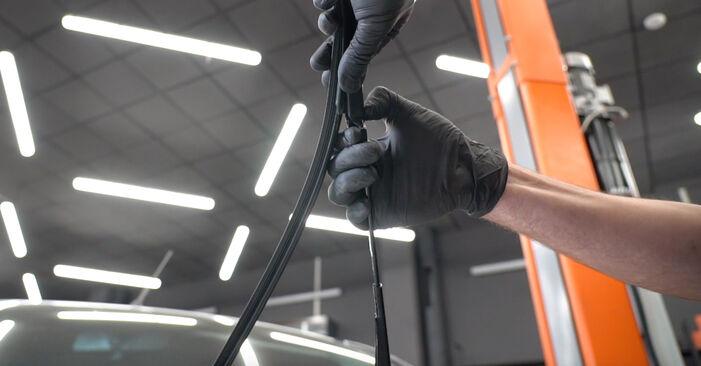 Scheibenwischer Ford Fiesta ja8 1.6 TDCi 2010 wechseln: Kostenlose Reparaturhandbücher