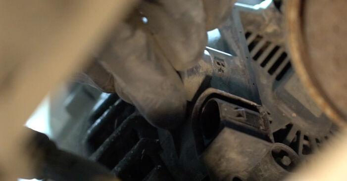 Hvordan man udskifter Vandpumpe + Tandremssæt på Ford Fiesta ja8 2008 - gratis PDF og video manualer