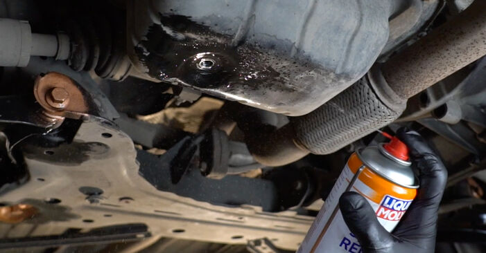 Fiesta Mk6 Hatchback (JA8, JR8) 1.4 LPG 2019 Oil Filter DIY replacement workshop manual