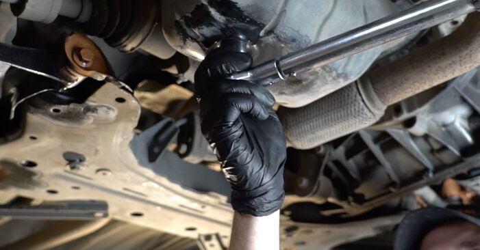 How to change Oil Filter on FORD Fiesta Mk6 Hatchback (JA8, JR8) 2020 - tips and tricks