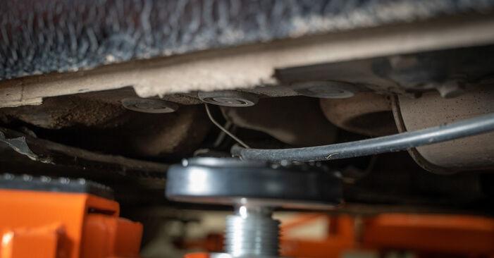 Touran 1t3 2.0 TDI 2012 Molla Ammortizzatore sostituzione: manuali dell'autofficina
