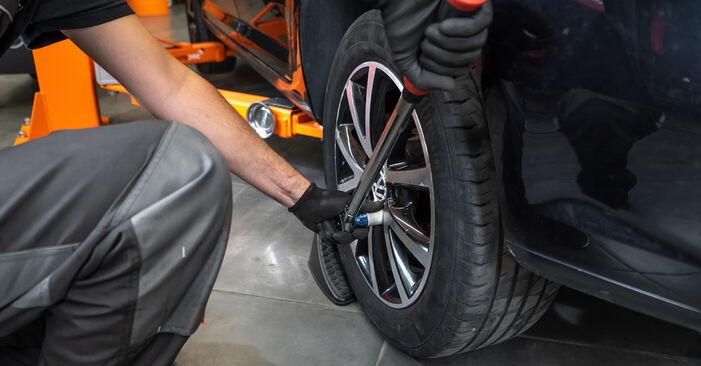 Come sostituire VW TOURAN (1T3) 1.6 TDI 2011 Molla Ammortizzatore - manuali passo passo e video guide