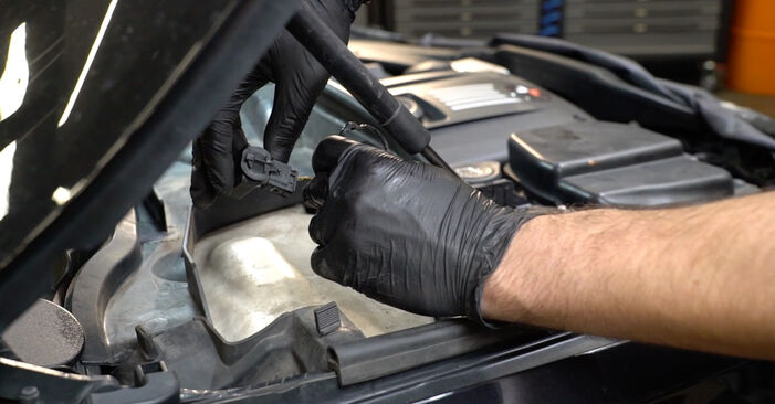 Steg-för-steg-rekommendationer för att byta BMW E82 2005 125i 3.0 Tändstift på egen hand