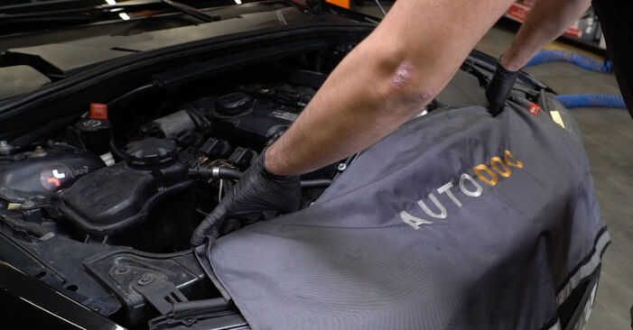 How to replace BMW 1 Coupe (E82) 120d 2.0 2002 Oil Filter - step-by-step manuals and video guides