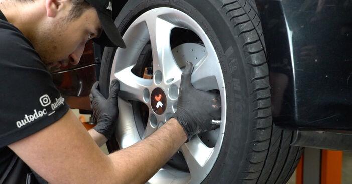 Kā nomainīt Kustības dinamikas regulēšana BMW 1 Coupe (E82) 2011 - lejupielādējiet PDF rokasgrāmatas un video instrukcijas