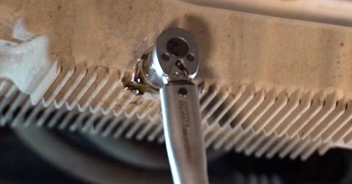 Golf 5 1.6 2005 Oljni filter zamenjava: brezplačni priročnik delavnice