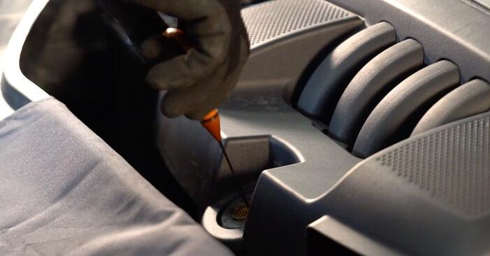 VW GOLF 1.9 TDI Oljni filter menjava: spletni vodniki in video vodiči