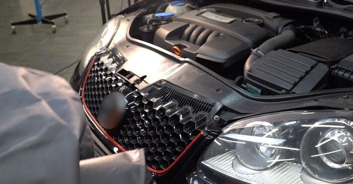 Priporočila korakov za DIY zamenjavo Golf 5 2009 2.0 TDI 16V Oljni filter