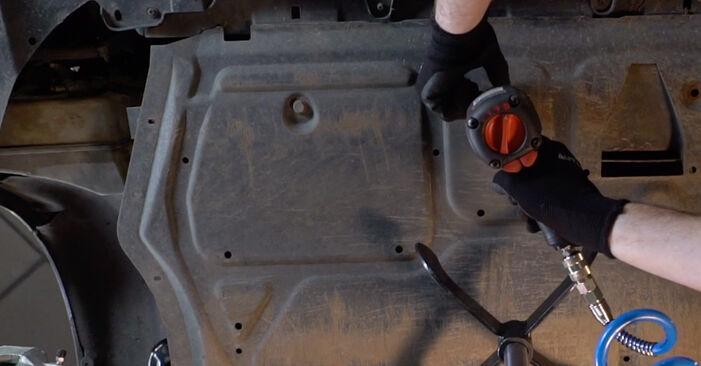 Kako odstraniti VW GOLF 2.0 TDI 16V 2007 Oljni filter - spletna, enostavna za sledenje, navodila