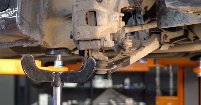 How to remove TOYOTA AYGO 1.4 HDi 2009 Shock Absorber - online easy-to-follow instructions