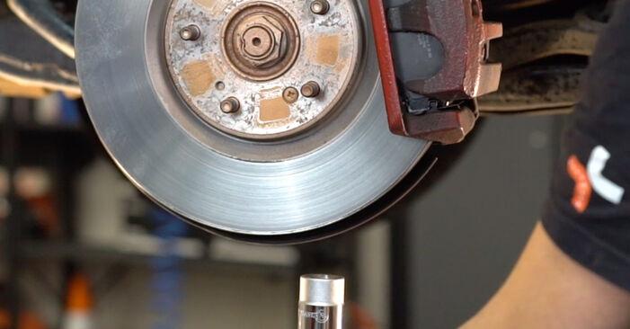 Stoßdämpfer am HONDA ACCORD VIII (CU) 2.0 i (CU1) 2013 wechseln – Laden Sie sich PDF-Handbücher und Videoanleitungen herunter