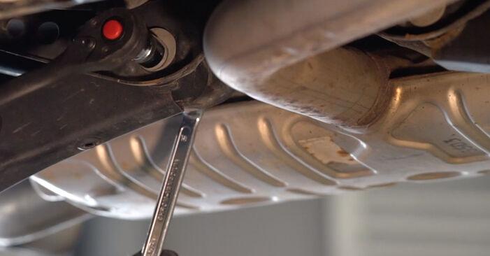 VW GOLF 1.4 TSI Ressort d'Amortisseur remplacement: guides en ligne et tutoriels vidéo