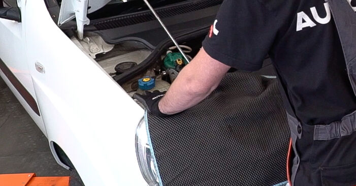 How to replace FIAT Doblo Cargo (223_) 1.9 JTD 2001 Shock Absorber - step-by-step manuals and video guides