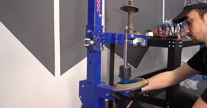 Doblo Cargo (223_) 1.3 JTD 16V 2011 Shock Absorber DIY replacement workshop manual
