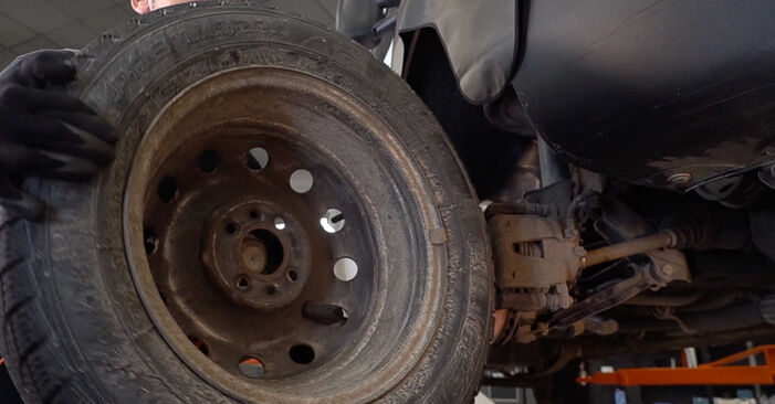 Changing of Shock Absorber on Fiat Doblo Cargo 2008 won't be an issue if you follow this illustrated step-by-step guide