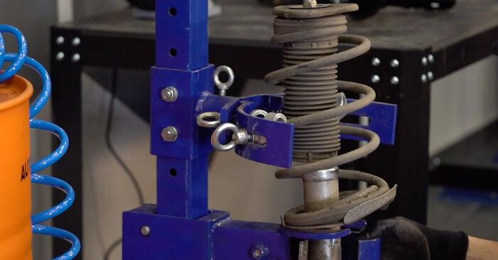 Focus II Berlina (DB_, FCH, DH) 1.6 Ti 2006 Muelles de Suspensión manual de taller de sustitución por su cuenta