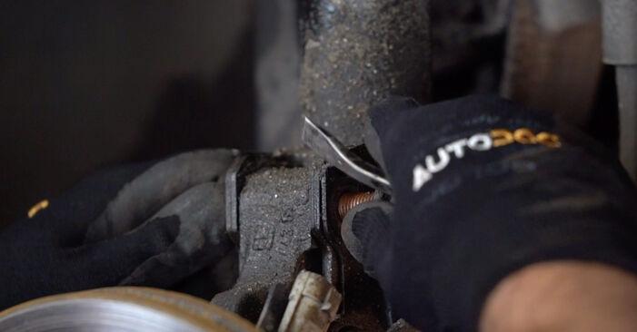 Austauschen Anleitung Federn am Opel Astra g f48 2008 1.6 16V (F08, F48) selbst