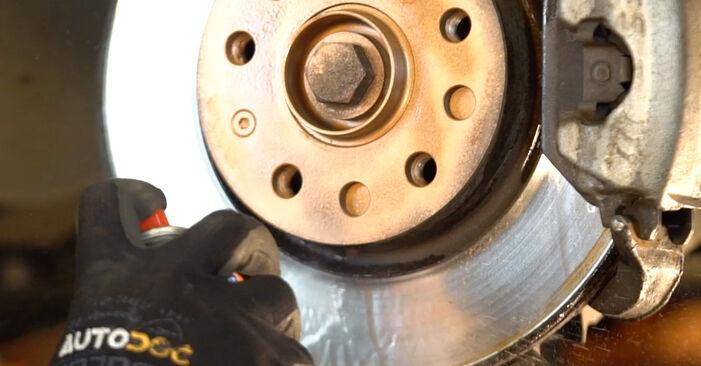 A substituição do Tirante da Barra Estabilizadora no VW Golf V Hatchback (1K1) 2.0 GTI 2003 não é mais um problema com o nosso tutorial passo a passo.