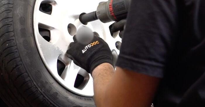 Modifica Biellette Barra Stabilizzatrice su FIAT PUNTO (188) 1.9 JTD 80 2002 da solo