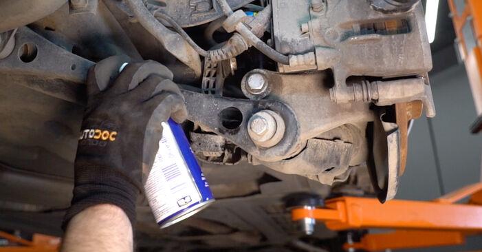 Koppelstange am AUDI A6 Limousine (4F2, C6) 3.2 FSI quattro 2009 wechseln – Laden Sie sich PDF-Handbücher und Videoanleitungen herunter