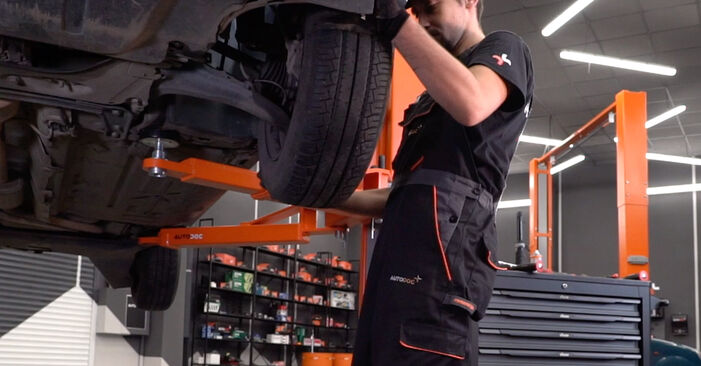 How to change Springs on RENAULT MEGANE II Saloon (LM0/1_) 2001 - tips and tricks