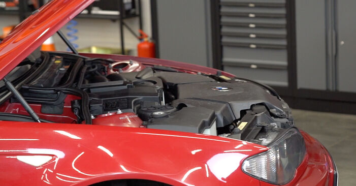 Kaip pakeisti Spyruoklės la BMW 3 Convertible (E46) 1998 - nemokamos PDF ir vaizdo pamokos