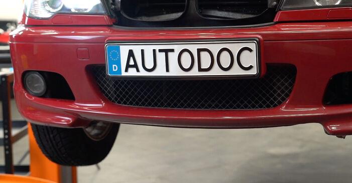 Savarankiškas BMW 3 Cabriolet (E46) 318Ci 2.0 2001 Spyruoklės keitimas