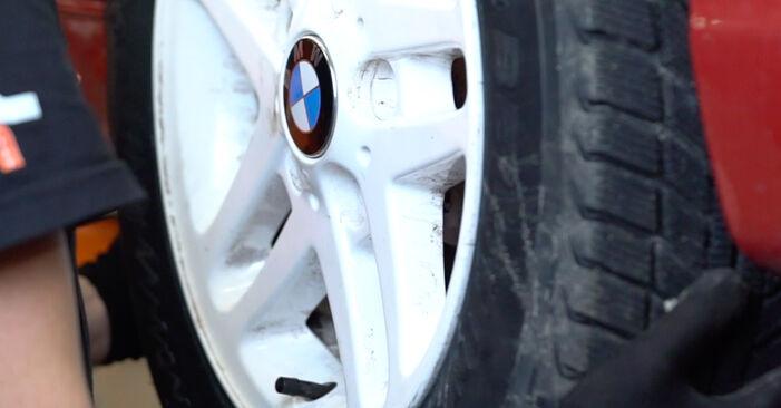 BMW 3 SERIES 2005 Spyruoklės išsami keitimo instrukcija