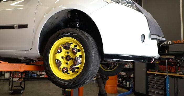 Mennyi ideig tart a csere: Toronycsapágy Renault Clio 3 2013 - tájékoztató PDF útmutató