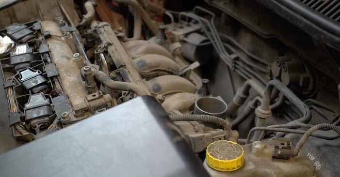 Tausch Tutorial Luftfilter am SEAT Ibiza III Schrägheck (6L) 2006 wechselt - Tipps und Tricks