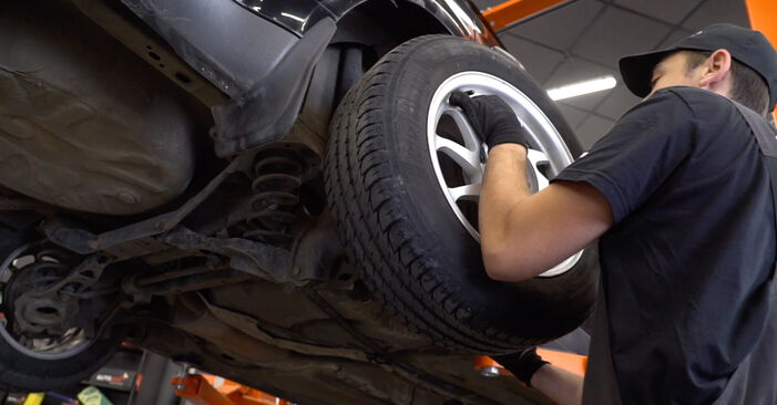 How to remove FORD FOCUS 1.6 Ti 2008 Springs - online easy-to-follow instructions