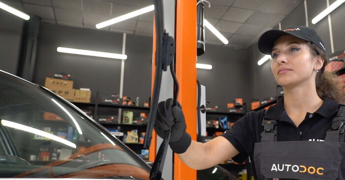 How to replace VW GOLF III (1H1) 2.8 VR6 1992 Wiper Blades - step-by-step manuals and video guides