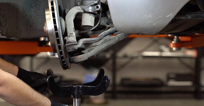 Wie schwer ist es, selbst zu reparieren: Federn BMW 3 Touring (E46) 330xd 2.9 2005 Tausch - Downloaden Sie sich illustrierte Anleitungen