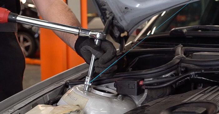 Federn BMW 3 Touring (E46) 330d 2.9 2001 wechseln: Kostenlose Reparaturhandbücher