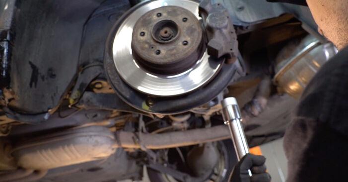 Tausch Tutorial Federn am MERCEDES-BENZ E-Klasse Limousine (W210) 1998 wechselt - Tipps und Tricks