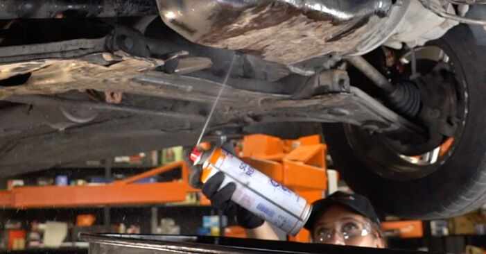 DIY replacement of Oil Filter on VW GOLF III (1H1) 1.8 1997 is not an issue anymore with our step-by-step tutorial