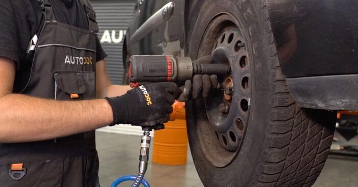 Schritt-für-Schritt-Anleitung zum selbstständigen Wechsel von Renault Clio 2 2011 1.4 Koppelstange
