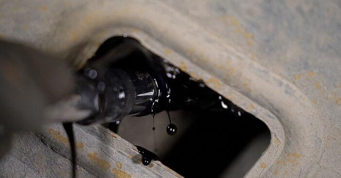 Не е трудно да го направим сами: смяна на Маслен филтър на Toyota Prado J120 3.0 D 2001 - свали илюстрирано ръководство
