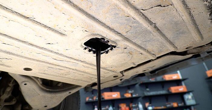 TOYOTA LAND CRUISER 2002 Маслен филтър стъпка по стъпка наръчник за смяна