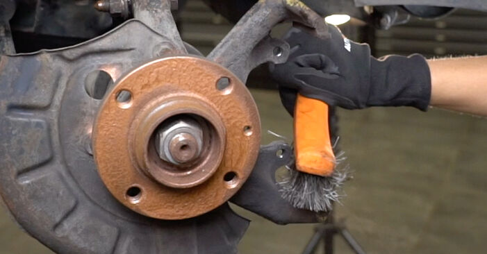 DIY replacement of Brake Discs on VW GOLF III (1H1) 1.8 1997 is not an issue anymore with our step-by-step tutorial