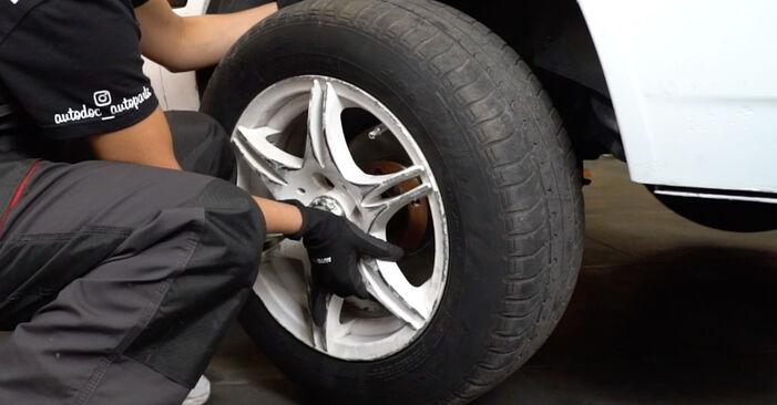 VW GOLF 2.8 VR6 Bremsscheiben austauschen: Tutorials und Video-Anweisungen online