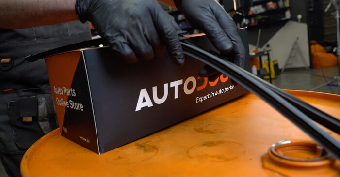 Audi A3 8pa 1.9 TDI 2005 Ruitenwissers remplaceren: kosteloze garagehandleidingen