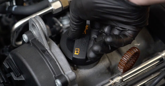 Ölfilter beim AUDI A3 2.0 FSI 2010 selber erneuern - DIY-Manual
