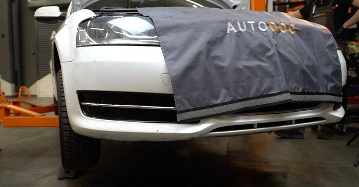 Wechseln Ölfilter am AUDI A3 Sportback (8PA) 1.6 TDI 2006 selber