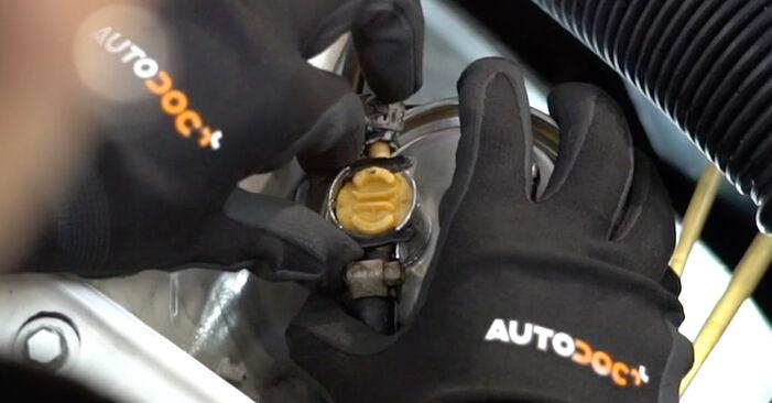 Kako zamenjati Filter goriva na VW GOLF III (1H1) 1995 - nasveti in triki
