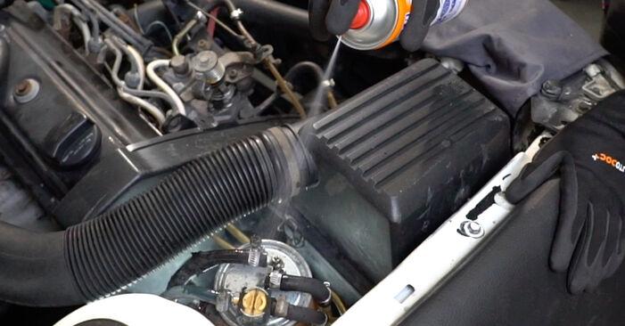 Golf 3 2.0 1993 Filter goriva zamenjava: brezplačni priročnik delavnice