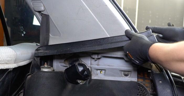 Zamenjajte Ležaj Amortizerja na VW GOLF III (1H1) 1.9 TDI 1994 sami